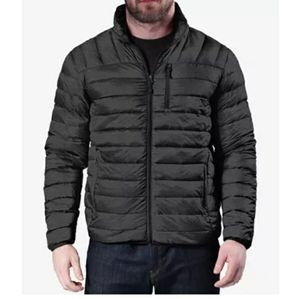 Hawke&Co Quilted Packable Nylon Jacket Drk htr nh2